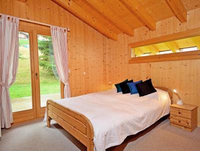 Location au ski Chalet Tanya - La Tzoumaz - Chambre mansardée