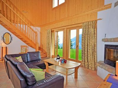 Location au ski Chalet Tanya - La Tzoumaz - Séjour