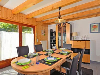 Location au ski Chalet Théo - La Tzoumaz - Salle à manger