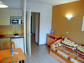 Location au ski Appartement 2 pièces 4 personnes (standard) - Residence Les Silenes - Le Collet d'Allevard - Kitchenette