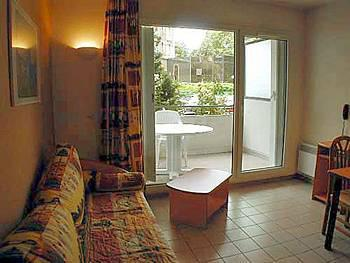 Location au ski Appartement 2 pièces 4 personnes (standard) - Residence Les Silenes - Le Collet d'Allevard - Porte-fenêtre donnant sur balcon