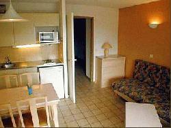 Location au ski Appartement 2 pièces 4 personnes (standard) - Residence Les Silenes - Le Collet d'Allevard - Séjour