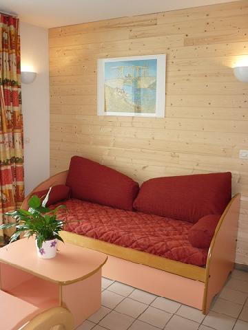 Location au ski Residence Les Silenes - Le Collet d'Allevard - Séjour