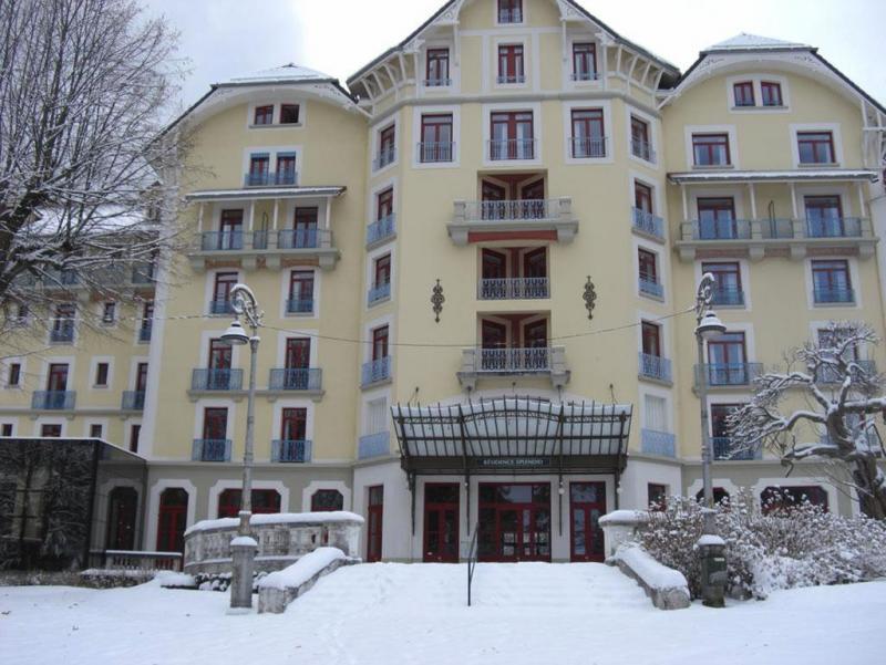 Vakantie in de bergen Appart'Hôtel le Splendid - Le Collet d'Allevard - Buiten winter
