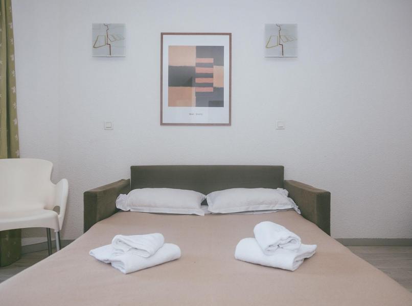 Location au ski Appart'Hôtel le Splendid - Le Collet d'Allevard - Canapé-lit