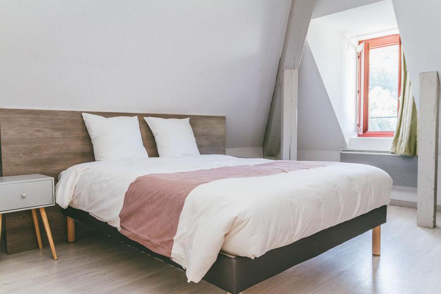 Аренда на лыжном курорте Appart'Hôtel le Splendid - Le Collet d'Allevard - Двухспальная кровать