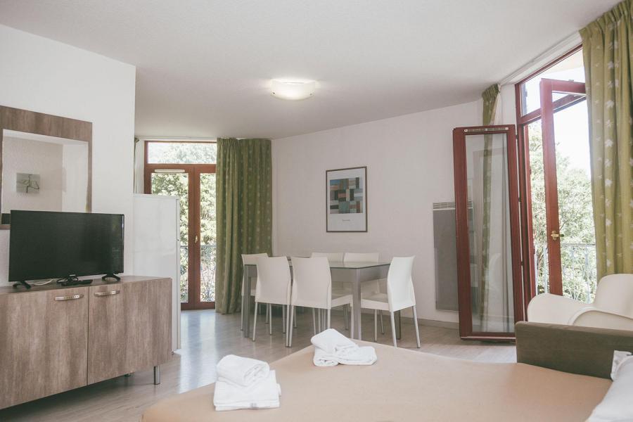 Ski verhuur Appart'Hôtel le Splendid - Le Collet d'Allevard - Woonkamer