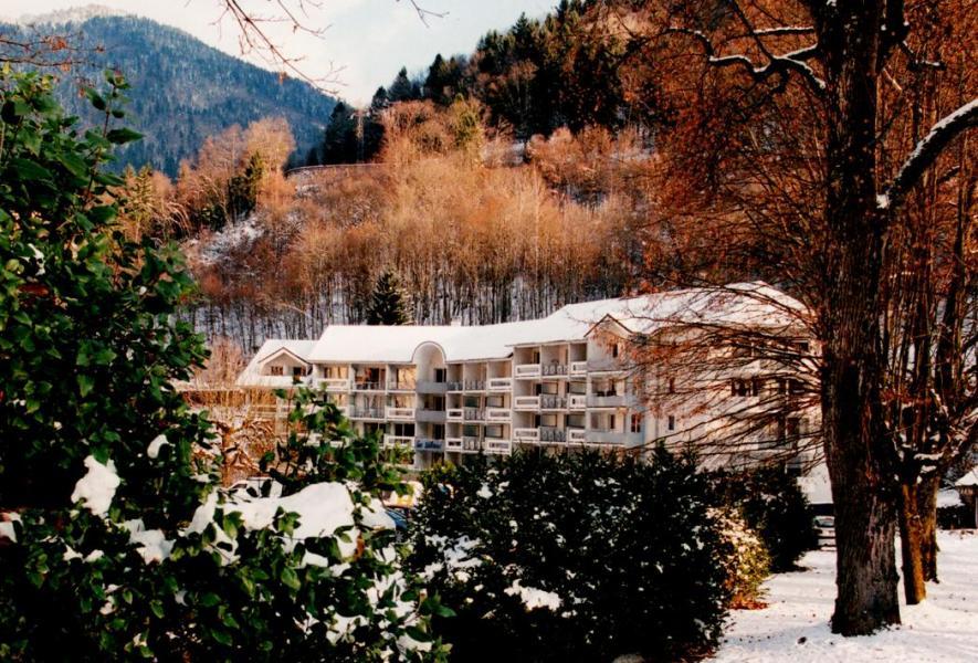 Location au ski Résidence les Silènes - Le Collet d'Allevard - Extérieur hiver