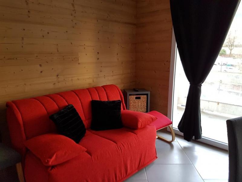Location au ski Résidence les Silènes - Le Collet d'Allevard - Canapé