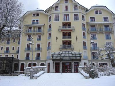 Rental Appart'Hôtel le Splendid winter