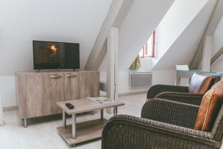 Rent in ski resort Appart'Hôtel le Splendid - Le Collet d'Allevard - TV