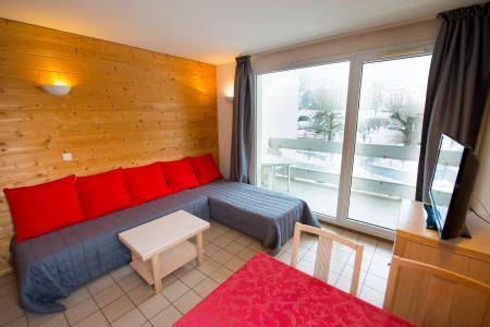 Location au ski Résidence les Silènes - Le Collet d'Allevard - Séjour