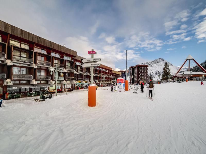 Vakantie in de bergen Appartement 1 kamers 2 personen (1) - Antarès - Le Corbier - Buiten winter