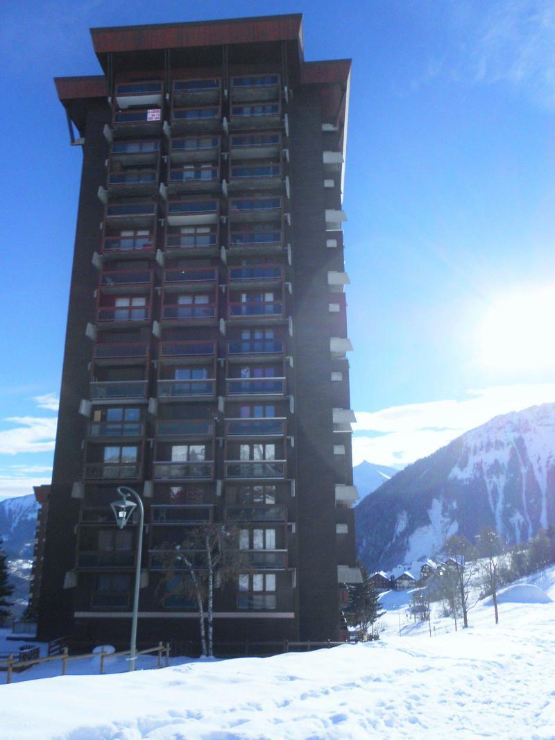Vakantie in de bergen La Résidence Vostok Zodiaque - Le Corbier - Buiten winter