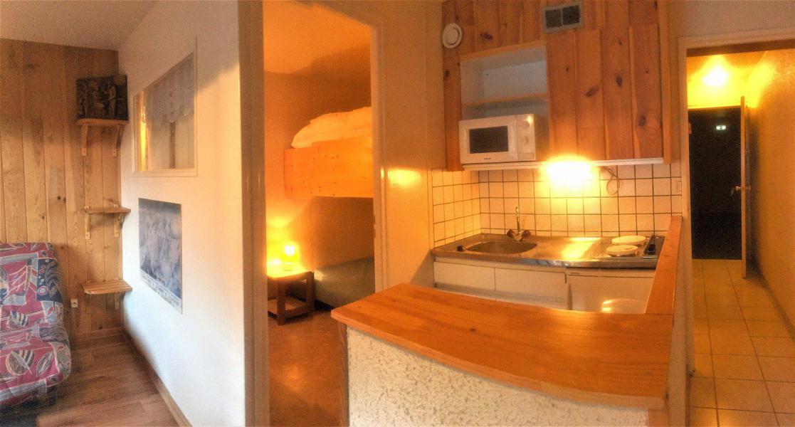 Location au ski Studio cabine 5 personnes (511) - La Résidence Vostok Zodiaque - Le Corbier - Kitchenette
