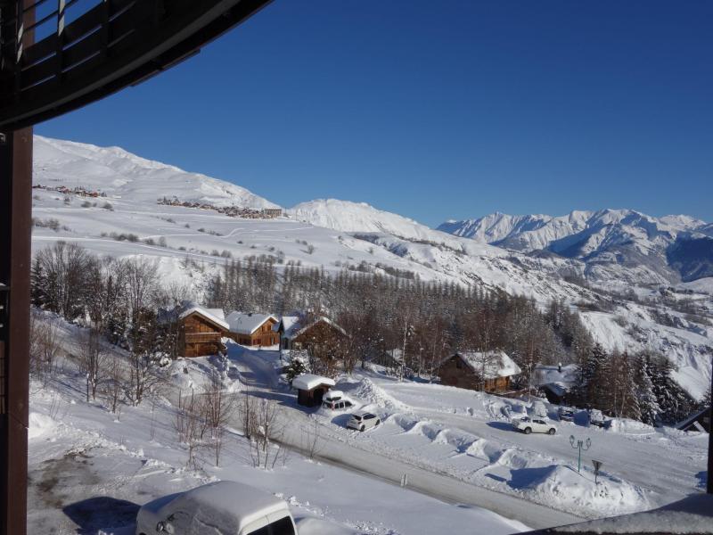 Location au ski Appartement 3 pièces 6 personnes (18) - Les Pistes - Le Corbier
