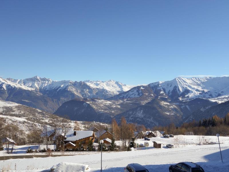 Location au ski Appartement 2 pièces 4 personnes (9) - Les Pistes - Le Corbier - Extérieur hiver
