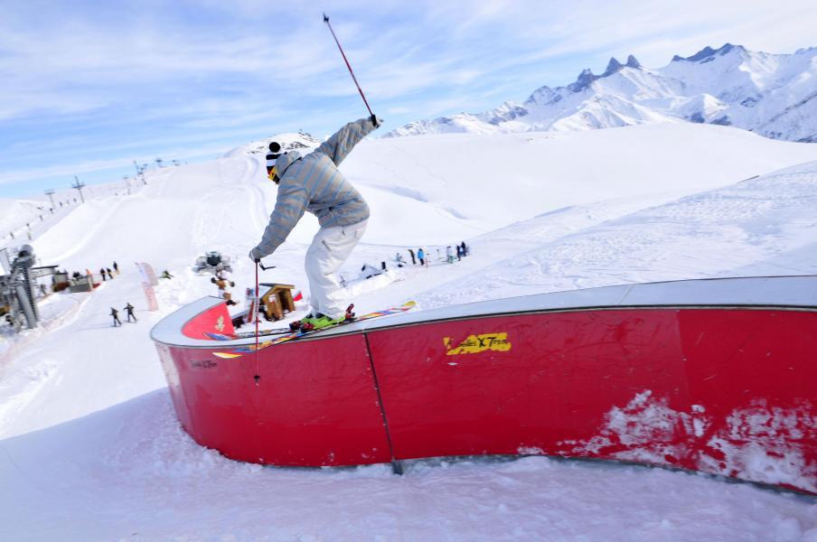 Vacances en montagne Les Terrasses du Corbier - Le Corbier - Extérieur hiver