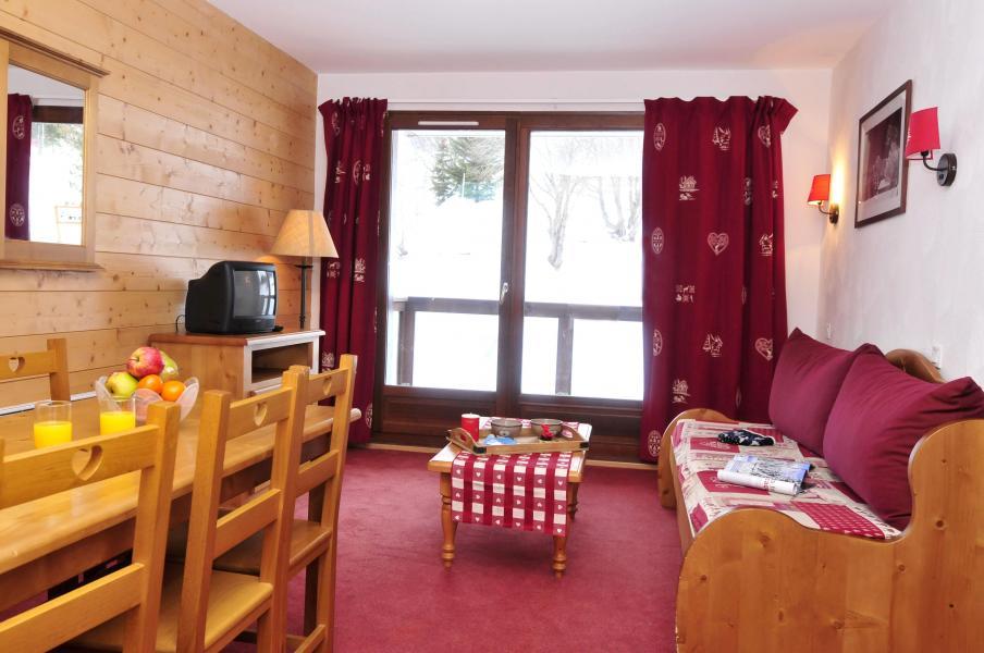 Location au ski Les Terrasses du Corbier - Le Corbier - Coin séjour