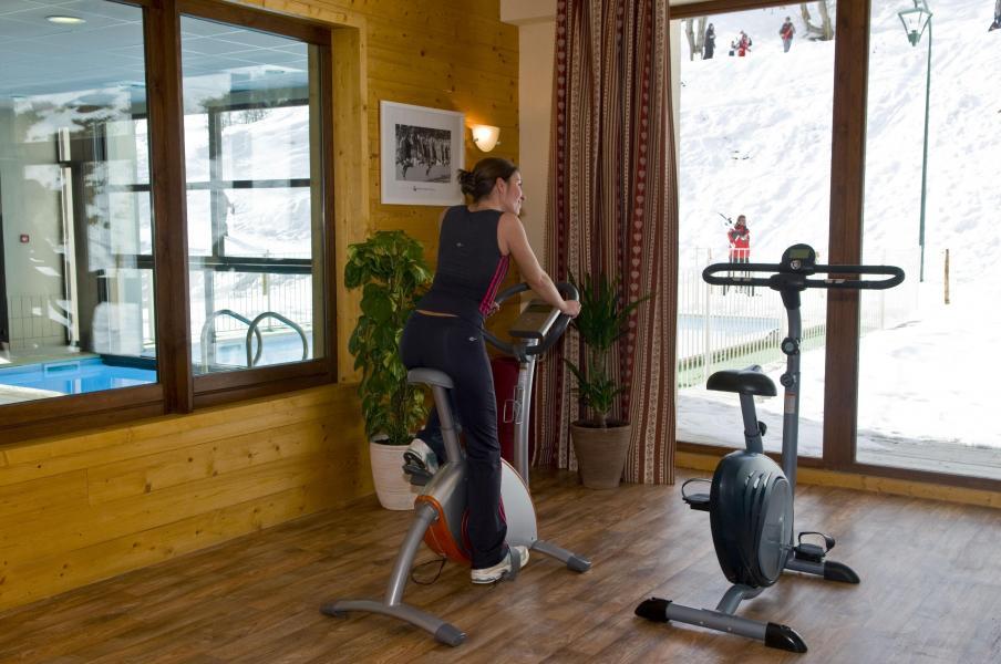 Location au ski Les Terrasses du Corbier - Le Corbier - Espace fitness