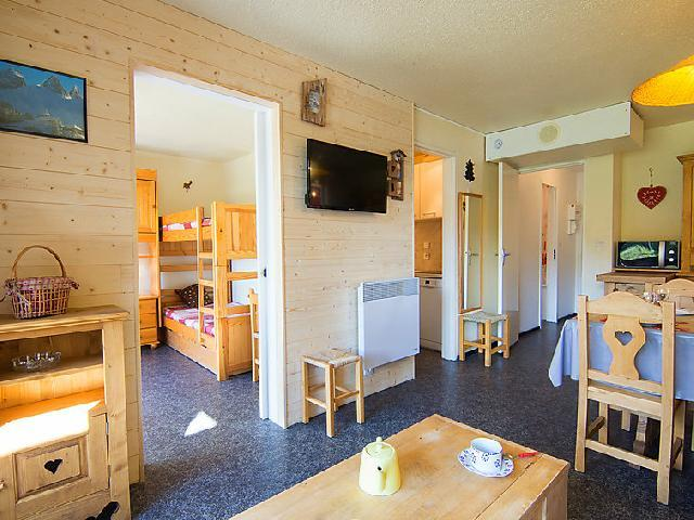 Rent in ski resort 3 room apartment 6 people (38) - Pégase Phénix - Le Corbier - Apartment