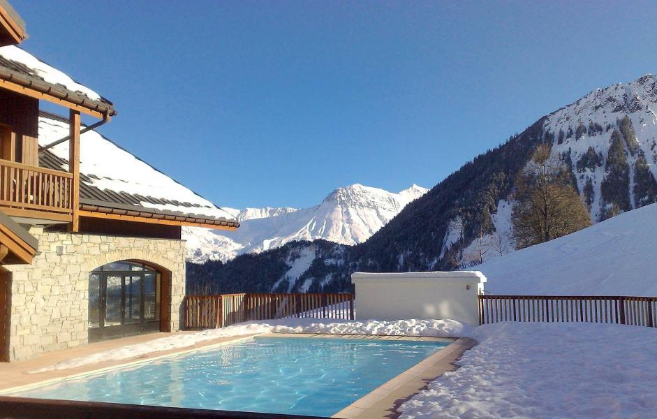 Location au ski Residence Les Alpages Du Corbier - Le Corbier - Piscine