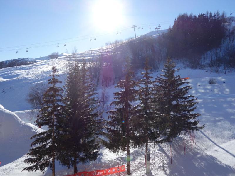 Аренда на лыжном курорте Апартаменты 1 комнат 2 чел. (92) - Soyouz Vanguard - Le Corbier