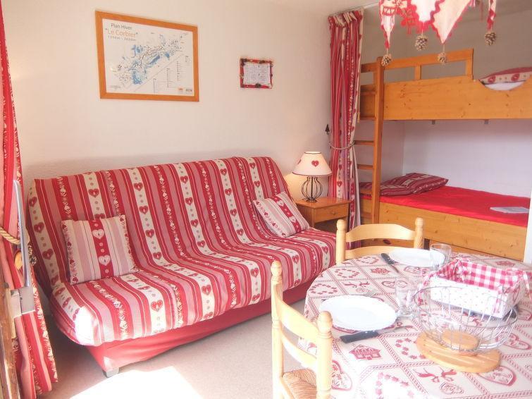 Rent in ski resort 1 room apartment 4 people (79) - Vostok Zodiaque - Le Corbier - Apartment