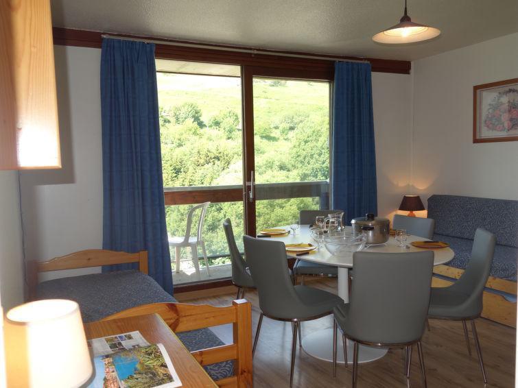 Rent in ski resort 3 room apartment 6 people (55) - Vostok Zodiaque - Le Corbier - Apartment