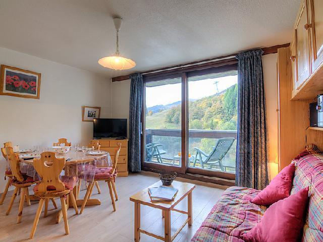 Rent in ski resort 3 room apartment 6 people (75) - Vostok Zodiaque - Le Corbier - Apartment