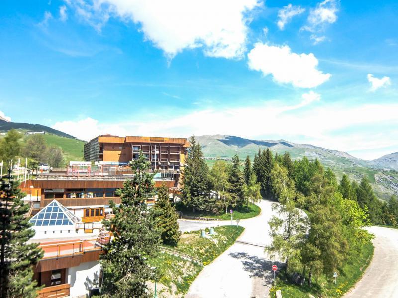 Location au ski Appartement 1 pièces 2 personnes (26) - Vostok Zodiaque - Le Corbier - Appartement