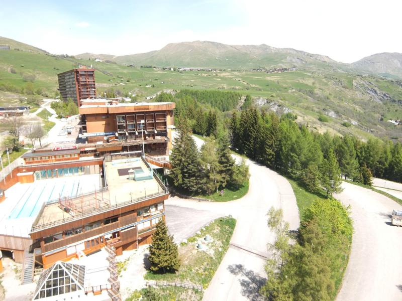 Location au ski Appartement 1 pièces 2 personnes (27) - Vostok Zodiaque - Le Corbier - Appartement