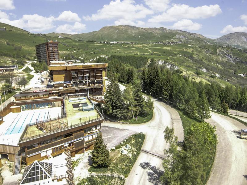 Location au ski Appartement 1 pièces 2 personnes (34) - Vostok Zodiaque - Le Corbier - Appartement