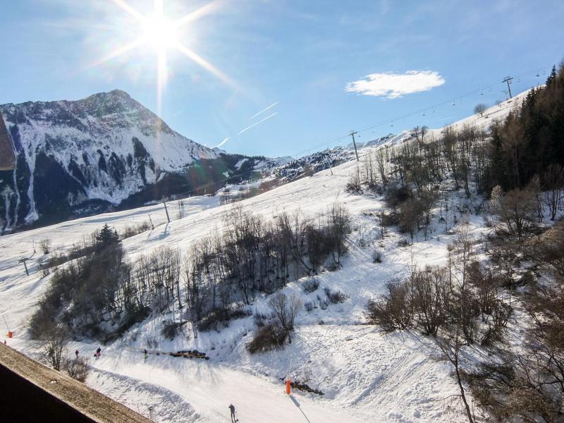 Location au ski Appartement 1 pièces 4 personnes (84) - Vostok Zodiaque - Le Corbier - Appartement