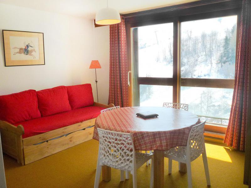 Location au ski Appartement 3 pièces 6 personnes (70) - Vostok Zodiaque - Le Corbier - Appartement