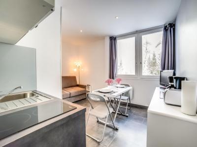 Rent in ski resort 1 room apartment 2 people (1) - Antarès - Le Corbier - Apartment