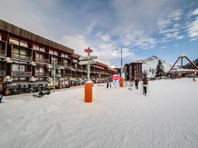 Rent in ski resort 1 room apartment 2 people (1) - Antarès - Le Corbier - Winter outside