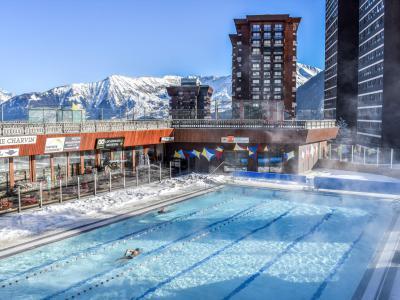 Rent in ski resort 1 room apartment 2 people (1) - Antarès - Le Corbier