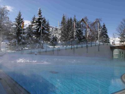 Vakantie in de bergen Ariane - Le Corbier - Buiten winter