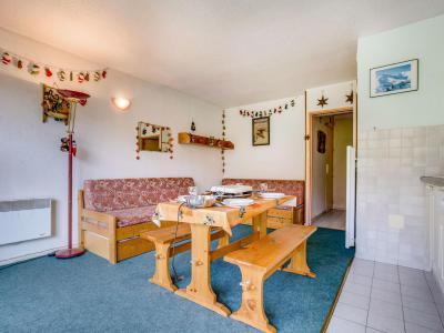 Rent in ski resort 2 room apartment 4 people (4) - Baikonour - Le Corbier - Living room
