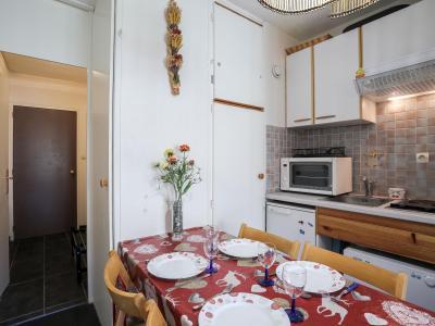Rent in ski resort 1 room apartment 4 people (8) - Cosmos - Le Corbier