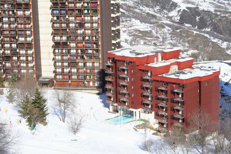 Location au ski Les Terrasses du Corbier - Le Corbier - Extérieur hiver