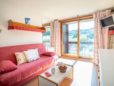 Rent in ski resort 1 room apartment 4 people (45) - Lunik Orion - Le Corbier