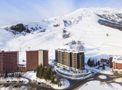 Vacances en montagne Résidence Club MMV l'Etoile des Sybelles - Le Corbier - Extérieur hiver