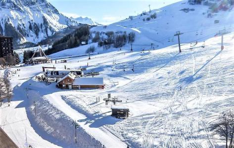 Rent in ski resort Studio 4 people (0808) - Résidence Cosmos - Le Corbier - Living room