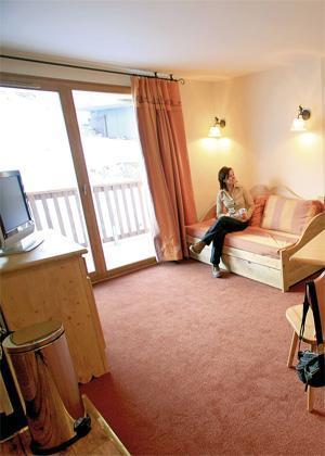 Location au ski Appartement 2 pièces 4 personnes - Residence Les Alpages Du Corbier - Le Corbier - Séjour