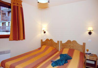 Location au ski Appartement 2 pièces cabine 6 personnes - Residence Les Alpages Du Corbier - Le Corbier - Chambre