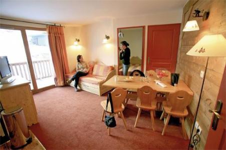Location au ski Appartement 2 pièces cabine 6 personnes - Residence Les Alpages Du Corbier - Le Corbier - Séjour