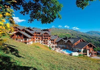 Location au ski Residence Les Alpages Du Corbier - Le Corbier - Intérieur