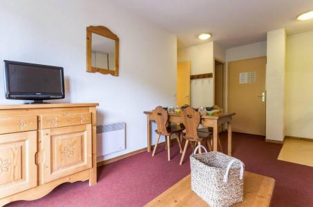 Rent in ski resort 2 room apartment 4 people (A12) - Résidence les Pistes - Le Corbier - Living room